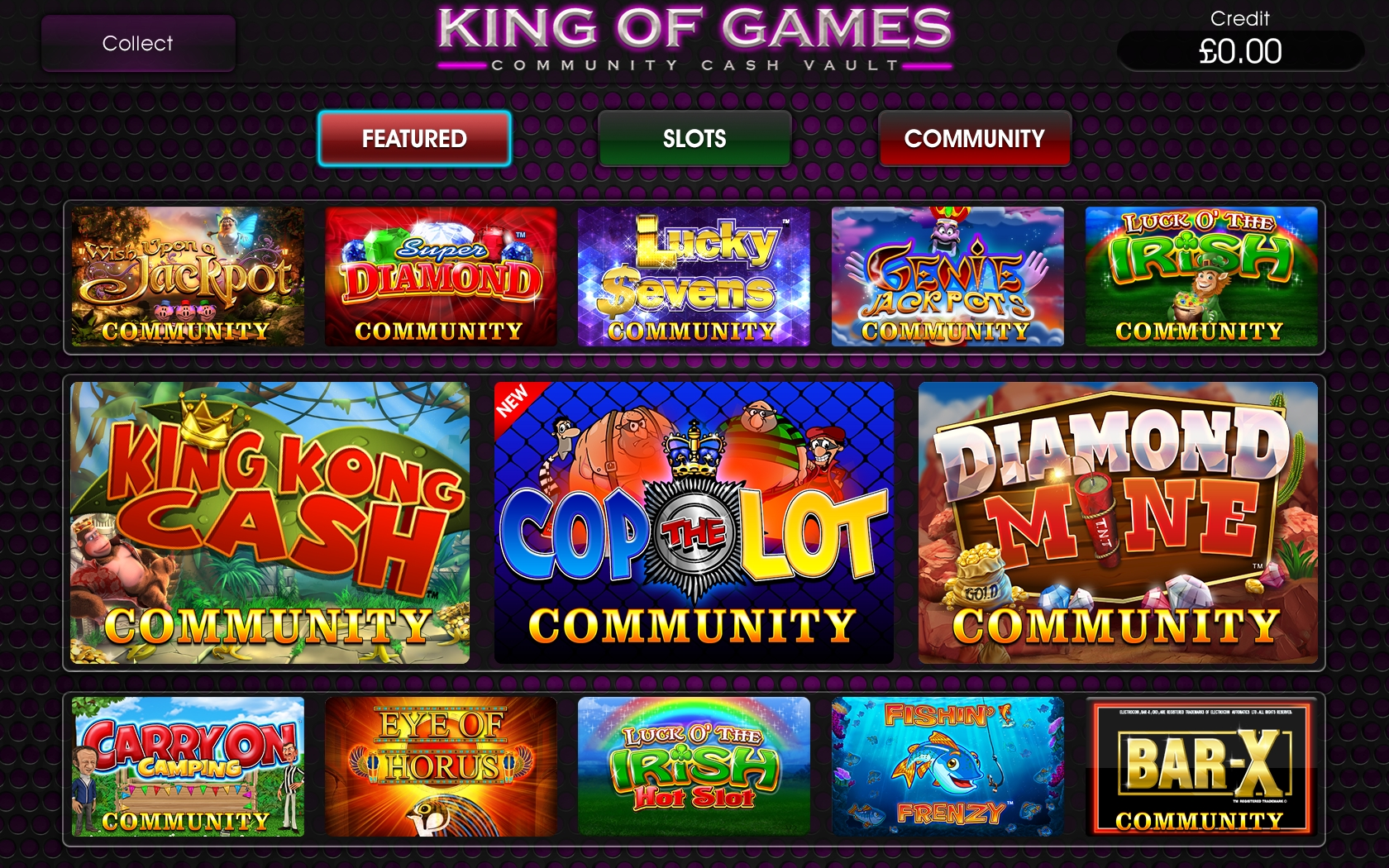 Community Cash Vault