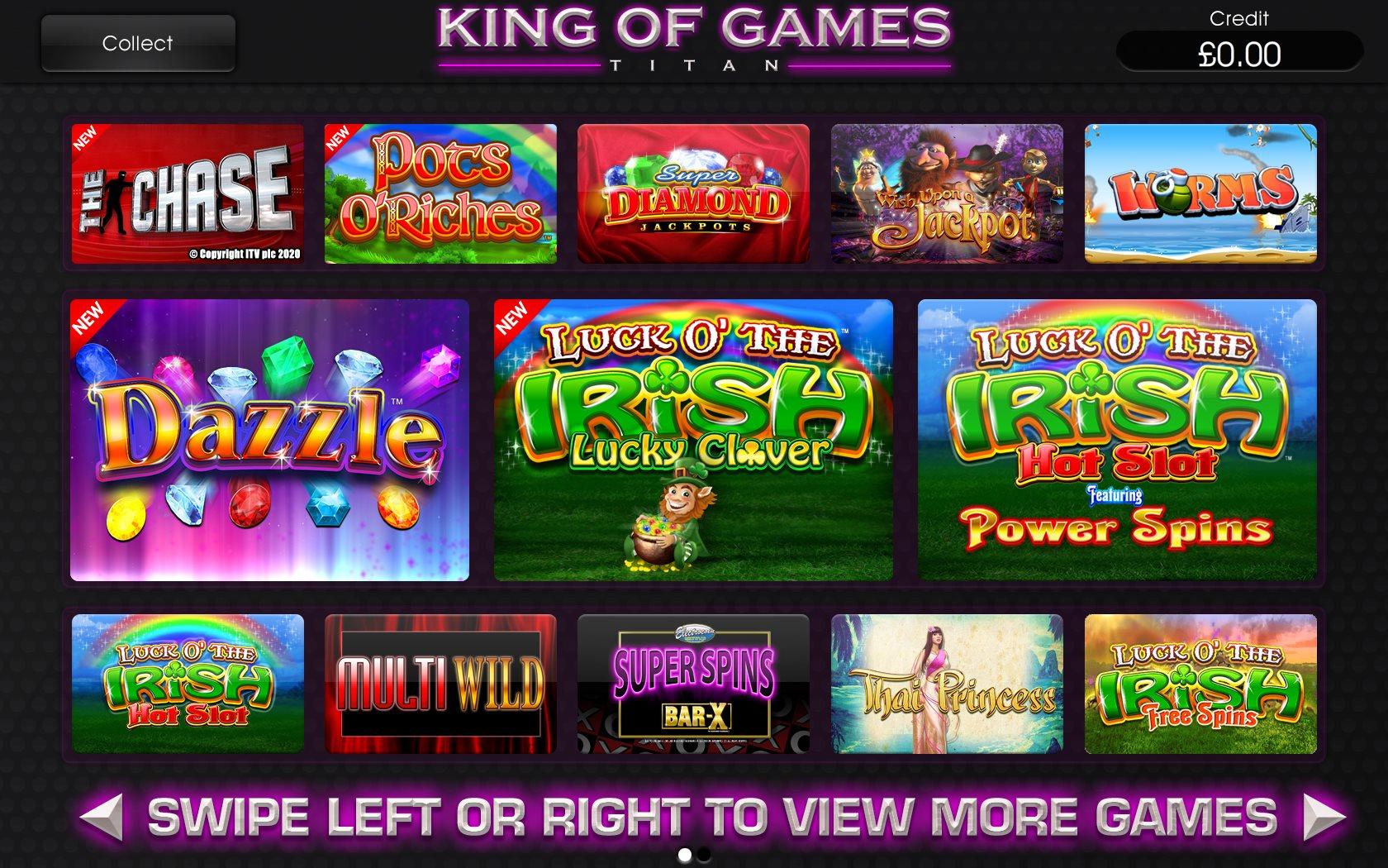 King Of Games Titan